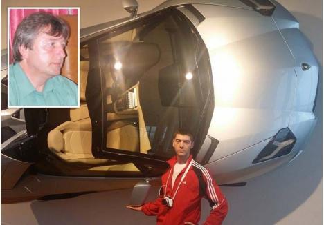 TATA & FIUL. Condamnat la închisoare cu suspendare pentru uciderea unui om într-un accident rutier, fostul director RAR Oradea Gheorghe Lupaş (medalion) nu doar că a supravieţuit, ci şi-a integrat în sistem şi fiul. Angajat la o staţie ITP din Calea Borşului, tânărul Andrei Lupaş (foto) face inspecţii auto fără drept, din câştiguri satisfăcându-şi pasiunea pentru motoare şi maşini