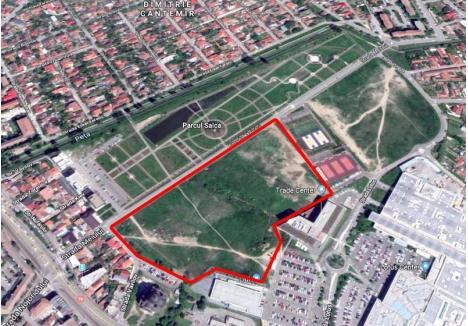ÎN AER LIBER. Grădina botanică va completa zona Salca, unde deja există un parc uriaş şi terenuri de sport. Noua investiţie va fi amenajată pe amplasamentul delimitat de parcul sportiv, Trade Center şi străzile Vavilov şi Meiului