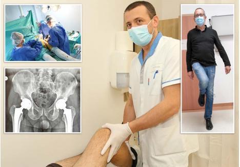 """LA DANS, VĂ ROG! Specialist în ortopedie-traumatologie de 15 ani, Jorgaq Tona (foto) s-a născut în Albania, a crescut în Grecia şi s-a specializat în România, la Oradea, unde a absolvit Facultatea de Medicină şi Farmacie, dar şi în Franţa, la spitalul universitar din Dijon, unde a deprins arta artroplastiei totale de şold prin abord direct anterior minim invaziv. """"La doar 6 săptămâni, un pacient mi-a trimis filmare că dansează salsa. Mi-a spus: «M-am operat ca să pot să dansez. Şi uite că pot»"""", povesteşte Iorgo"""