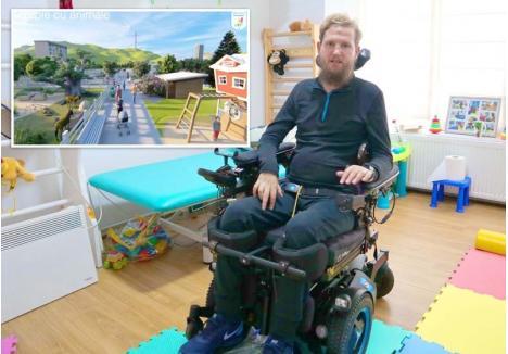 PROIECTAT DE NEŞU. Complexul de recuperare a fost desenat în 3D chiar de fostul sportiv Mihai Neşu (foto) într-un program pe calculator accesibil lui