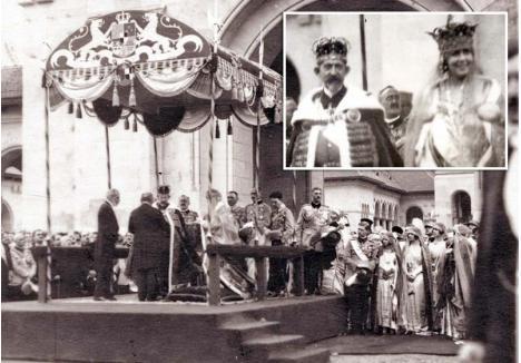 """SUVERANI DEPLINI. După încheierea tuturor tratatelor de pace din urma Primului Război Mondial și oficializarea noii construcții statale, Regele Ferdinand și Regina Maria au fost încoronați suverani ai României Mari printr-o ceremonie fastuoasă, ținută la Alba Iulia în 15 octombrie 1922. Se încheia, astfel, procesul creării României """"dodoloațe"""", adică """"rotunde"""", după cum o numea Lucian Blaga, în """"Hronicul și cântecul vârstelor"""""""