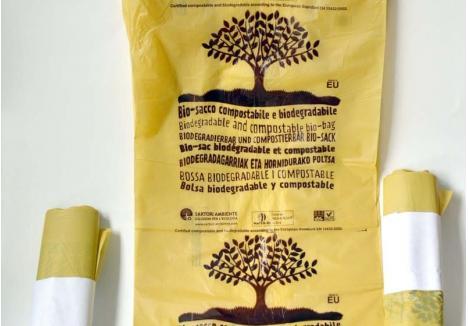 PENTRU FIECARE. RER Vest a cumpărat 875.000 pungi din plastic biodegradabil, care vor ajunge în 6.405 apartamente din Oradea. În ziua anterioară distribuirii, locatarii vor afla că urmează să primească noii saci prin pliante lăsate în casa scării