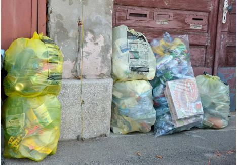 SĂ COLECTĂM SELECTIV! Anul trecut, orădenii au colectat selectiv 1.285 tone de plastic, adică jumătate din cantitatea totală de deşeuri reciclabile strânse de locuitorii oraşului