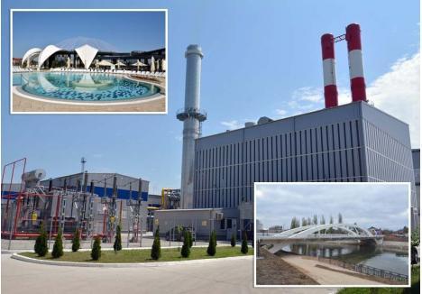 """EURO-INVESTIŢII. Finanţările europene atrase de DMPFI au făcut posibilă construirea noului CET şi reabilitarea reţelelor de termoficare (150 milioane euro), Aquaparkul Nymphaea (22 milioane euro), Podul Centenarului (3,3 milioane euro) şi multe alte obiective. """"Am încercat să depunem proiecte pe toate axele de finanţare posibile"""", spune primarul Ilie Bolojan"""