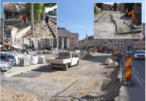 TOP HÂRTOP. Săpăturile din Piața Ferdinand, străzile Corneliu Coposu și Mușcatei vor fi împinse în toamnă, spre disperarea locuitorilor din zonele afectate