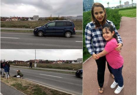 RAZĂ DE SOARE. Frumoasă foc şi cu un zâmbet molipsitor, Emilia, fiica cea mică a Anamariei, şi-a pierdut viaţa după ce a fost izbită de o maşină lângă Parcul Salca II. Deşi transportată de urgenţă la spital, micuţa n-a putut fi salvată