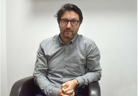 PREOCUPARE. Preşedintele Ordinului Arhitecţilor, Adrian Hagiu (foto), spune că orădenii ar trebui să fie mai preocupaţi de moştenirea urbană pe care o lasă