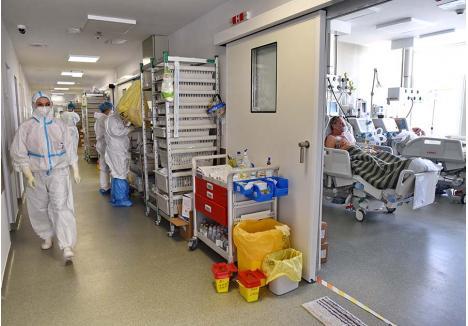 NON-STOP. Munca în secţiile ATI e tensionată din primele minute ale turei, când fiecare medic, asistentă şi infirmieră află de la colegii care le predau ştafeta starea fiecărui pacient în parte. Într-o singură zi, drumurile la paturile bolnavilor însumează kilometri întregi şi înseamnă zeci de verificări ale evoluţiei lor şi ajustări ale medicaţiei. De cele mai multe ori, pacientul nici nu realizează eforturile făcute pentru el, din simplul motiv că este inconştient, suspendat între viaţă şi moarte