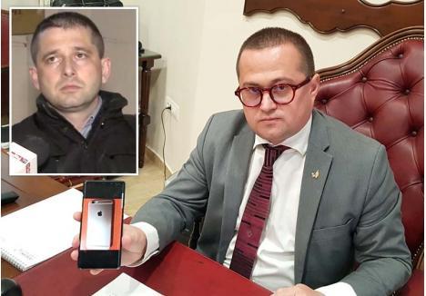 """""""APROPIAŢI DE DNA"""". Potrivit avocatului Răzvan Doseanu (dreapta), de la care a pornit atât ancheta Inspecţiei Judiciare contra celor 7 judecători de la Tribunalul Bihor, cât şi cea a Secţiei speciale de investigare a magistraţilor împotriva fostului şef al DNA Oradea, şi a colegilor cu care vorbea despre judecători """"favorabili"""" şi """"nefavorabili"""", Ciprian Man (stânga) ar fi colaborat cu Crina Muntean, """"care a deţinut mulţi ani de zile """"cheile"""" a tot ce înseamnă autorizări de interceptări şi de măsuri de supraveghere tehnică"""". Doseanu susţinea că aceasta ar fi declarat că """"are legături apropiate şi primeşte informaţii neoficiale de la DNA Oradea"""", ceea ce """"este nepermis"""""""