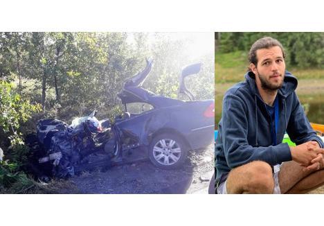 """SALVATOR """"SINUCIGAŞ"""". Un tânăr salvamontist din Vadu Crişului, Alex Bumb (foto), şi-a pierdut viaţa în Urvind, tot din cauza unei depăşiri eşuate, lovindu-se de un autocar pe care l-a aruncat pe câmp"""