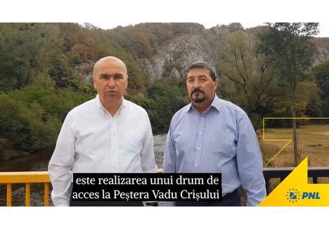 (captură video, sursa: Facebook / PNL Vadu Crişului)