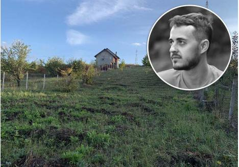 DE TOATE. Deşi părinţii ar fi vrut să-l vadă ridicându-şi o casă pe terenul de 2.000 de metri pătraţi pe care îl deţine pe dealurile Oradiei, Şerban Ganea (medalion) preferă să-l transforme într-o grădină comunitară (foto)