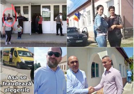 """CĂLARE PE SECŢII. În speranţa îmbunătăţirii rezultatelor în al 12-lea ceas, primarii PSD şi UDMR au dat târcoale secţiilor de votare la Sânmartin, Borod, Uileacu de Beiuş şi Lugaşu de Jos, unii fiind surprinşi de opozanţii de la USR-PLUS. Acuzându-i că stau """"călare pe secţii"""", şeful PNL Bihor, Ilie Bolojan, s-a dus personal la Haieu să ceară evacuarea unui PSD-ist din perimetrul secţiei"""