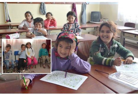 PLANURI. La Şcoala Pro Roma învaţă 203 copii, împărţiţi în două grupe de preşcolari şi cinci clase primare. Puţini, ţinând cont că în Tinca trăiesc circa 1.500 familii de ţigani, dar deocamdată atât permit spaţiile existente. Fondatorii îşi doresc ca pe viitor să le extindă, ba chiar să înfiinţeze şi o şcoală gimnazială şi una de meserii