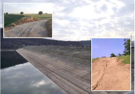 LA LOC COMANDA. Cea mai mare lucrare hidrotehnică executată în Bihor în ultimii ani, barajul din Tăut, a fost refăcut acum doi ani cu 56 milioane lei, având rol de protecţie împotriva inundaţiilor şi de a asigura apa necesară consumului în zona Salonta. Luna aceasta, digul era cât pe ce să fie distrus nu de furia apelor, ci de lăcomia omenească. Doar reacţia rapidă a sătenilor a făcut ca spărtura pe care excavatoarele firmei Tekon au realizat-o în peretele lateral al barajului să fie astupată în scurt timp