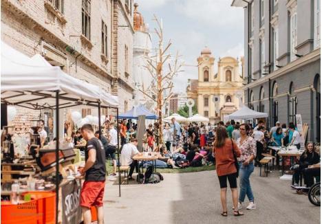 DIN STRADĂ ÎN CETATE. În alte oraşe, precum Timişoara (foto), Bucureşti şi Bacău, evenimente similare se desfăşoară în stradă, dar în Oradea a fost aleasă Cetatea, pe care organizatorii îşi propun s-o pună astfel în valoare