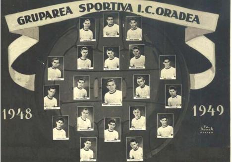 AI NOŞTRI, AI LOR. Cea mai importantă performanţă a unei echipe orădene de fotbal a fost câştigarea campionatului naţional de către Clubul Atletic Oradea, reuşită întâi în campionatul Ungariei în 1944, iar apoi în cel al României în 1949, sub numele ICO, preluat de la Întreprinderile Comunale Oradea, sub egida cărora funcţiona echipa