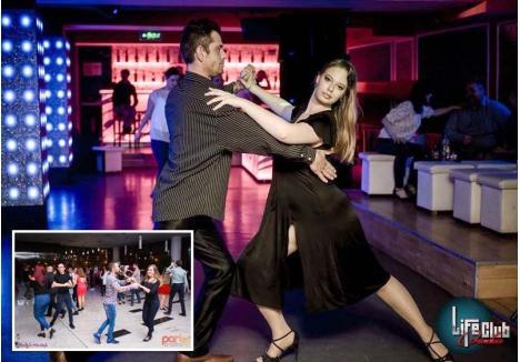 SERI RITMATE. În serile de vineri şi de sâmbătă, orădenii pasionaţi de dansuri de societate şi latino se întâlnesc în Blondys Art Cafe din Oradea Plaza sau în Club Life să-şi exerseze pasiunea în cadrul unor seri dansante. Dau totul pe ring şi o fac cu zâmbetul pe buze...