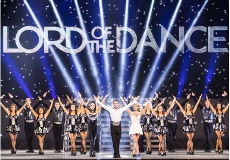 """DE TOP. În spectacolul """"Dangerous Games"""", dansatorii companiei Lord of the Dance vor arăta ce au învăţat de la mentorul lor, celebrul Michael Flatley, intrat în Cartea Recordurilor pentru că a reuşit să facă 35 de paşi de step într-o secundă"""