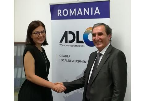 Alina Silaghi, directorul ADLO, a bătut palma cu noul investitor turc