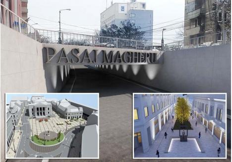 SCHIMBAREA LA FAŢĂ. Finanţate din fonduri UE, lucrările din zona centrală vor schimba aspectul oraşului prin reabilitarea Pieţei Ferdinand şi a străzii Aurel Lazăr şi prin construirea pasajului subteran pe sub Bulevardul Magheru