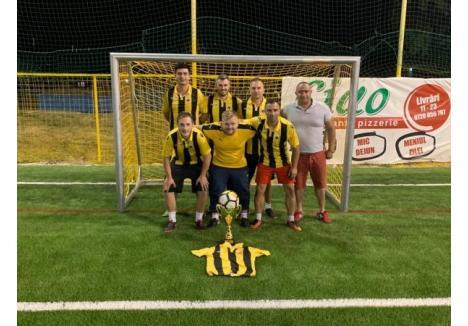 Supercupa Bihorului la minifotbal a fost câștigată de echipa Aek Oradea
