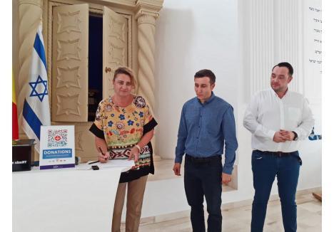 Angela Lupșea a semnat contractul de parteneriat cu Banca Transilvania pentru Charity Box-uri.