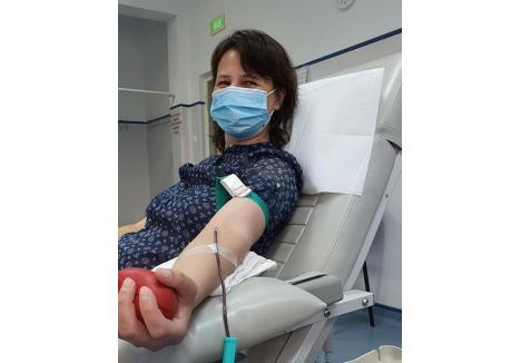 (sursa foto: Centrul de Transfuzie Sanguină Oradea)