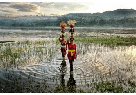 Imagine realizată pe insula Bali