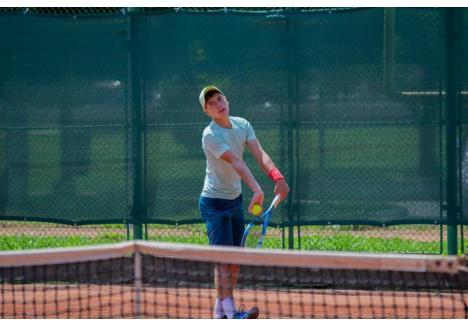 Mihai Lungu, tenismenul de la CSM Oradea care s-a calificat în sferturile de finală ale competiției