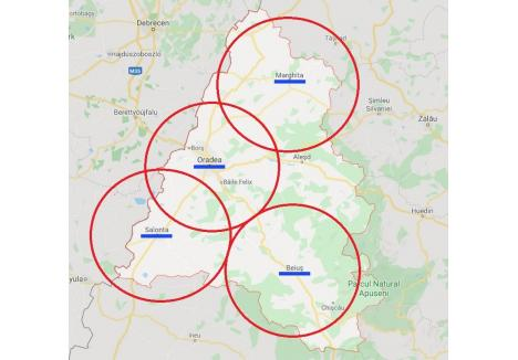 Dacă ar fi să luăm în considerare noile reguli ale Guvernului, aproape tot județul Bihor este zonă metropolitană...