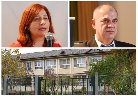 Una din şcolile cu conducere nouă este Liceul German din Oradea, unde fosta directoare adjunctă, Ellenes-Jakabffy Emese (foto stânga), a devenit director plin, în locul profesorului Nicolae Ungur (foto dreapta)