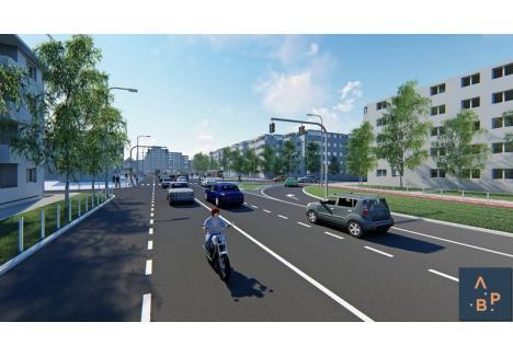 Propunerea de amenajare pentru cartierele Nufărul şi Cantemir