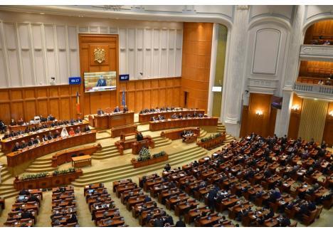 (Sursa foto: Facebook - Parlamentul României - Camera Deputaților)