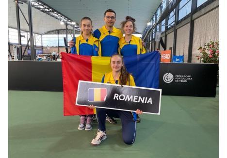 (Sursa foto: Facebook CSM Oradea - Tenis)