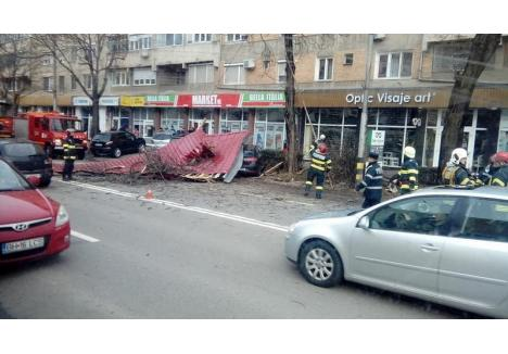 sursa foto: Miklo Maria (Facebook / INFO Trafic - Oradea)