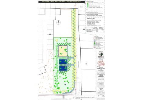 Vezi aici schița viitorului parc din Cartierul Tineretului