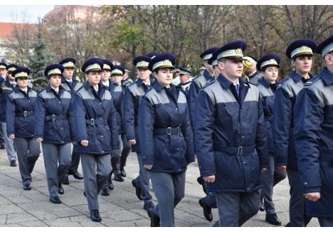 """(foto: Şcoala de Pregătire a Agenţilor Poliţiei de Frontieră """"Avram Iancu"""")"""