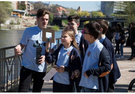 """""""Thunder generation"""". La Gojdu, elevii vor învăţa mai multe despre vreme, precipitaţii şi inundaţii într-un club de meteorologie"""