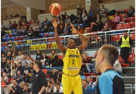 Giordan Watson, în tricoul naţionalei României