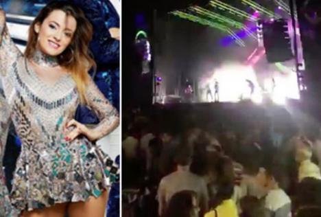 Momente de groază, în fața fanilor:O cântăreaţă spaniolă a fost ucisă pe scenă, în timpul unui concert (VIDEO)