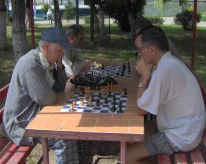Salontanii, provocaţi la un open rapid de şah