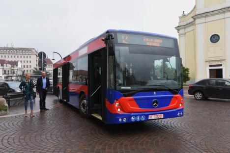 OTL a preluat noile Mercedes Conecto Euro 6 care vor circula prin Oradea. Vezi cum arată! (FOTO / VIDEO)