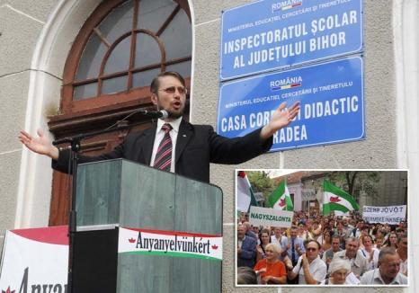 Şantaj UDMR-ist: Pentru a obţine mai multe clase de limba maghiară, liderii UDMR Bihor ameninţă cu proteste de stradă