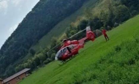 Accident cu 4 victime, la Bulz: Şoferul a pierdut controlul maşinii şi a intrat într-un copac, iar apoi într-un gard (FOTO)