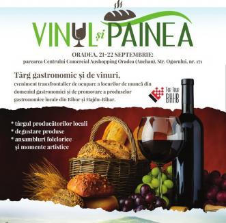 Târg gastronomic și de vinuri la Aushopping Oradea
