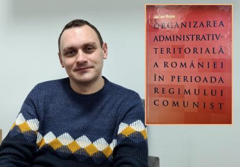 Lecţia de istorie: Un director de şcoală din Bihor a lansat o carte despre organizarea teritorială în România comunistă