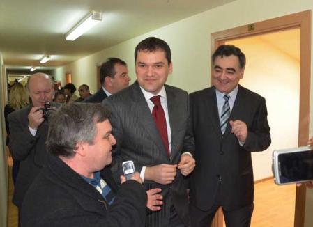 Ministrul Cseke Attila a inaugurat noul sediu al Direcţiei de Sănătate Publică (FOTO)