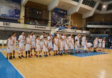 Baschet: CSM CSU Oradea joacă, începând de sâmbătă, în Cupa României