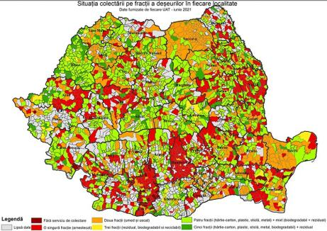 Judeţ pe 'verde': Cu o treime din deşeuri colectate separat, Bihorul e fruntaş în ţară. Ce planuri mai au autorităţile